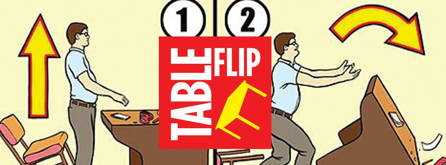 Table Flip Creative Process