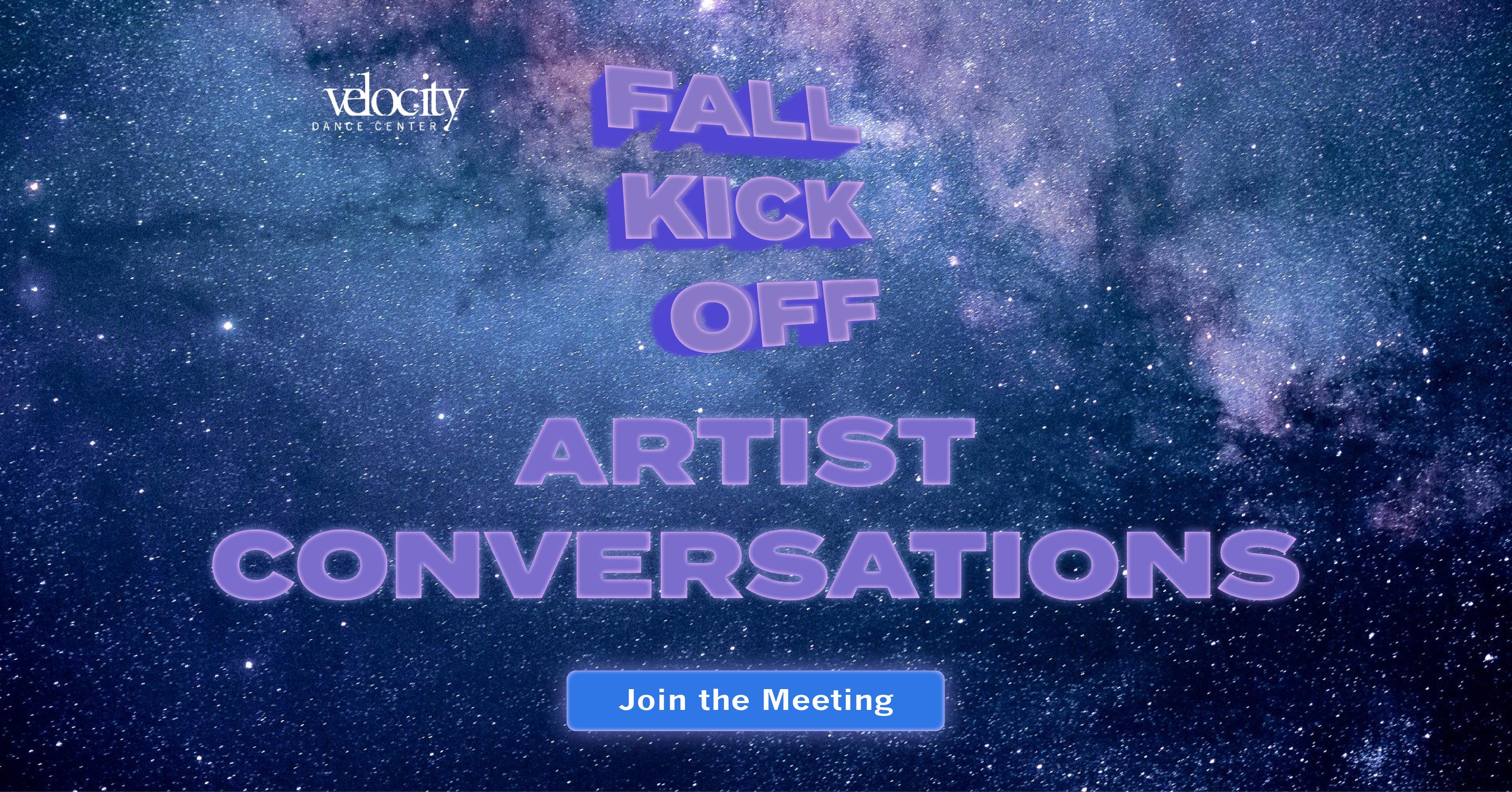 FKO 2020: Artist Conversations